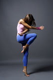 Modern style dancer royalty free stock image