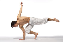 Modern style dancer Stock Photo