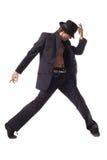 Modern style dancer Royalty Free Stock Image