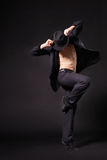 Modern style dancer Royalty Free Stock Photo