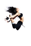 Modern style dancer stock photos