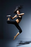 Modern style dancer Royalty Free Stock Photos