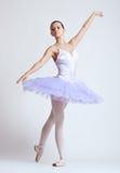 Modern style dancer posing royalty free stock photo