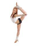 Modern style dancer posing Royalty Free Stock Photos