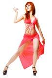 Modern style dancer posing Stock Image