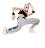 Modern style dancer Stock Image