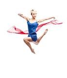 Modern style dancing girl Stock Image