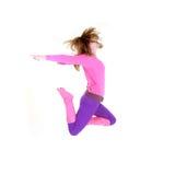 Modern style dancing girl Stock Photo