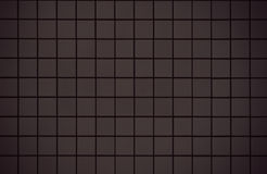 Modern style design of black mosaic tile Stock Photography