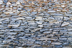 Modern style design decorative cracked real stone wall surface Stock Photo