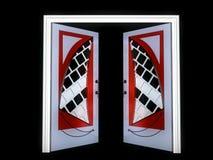 Modern-style door Stock Images