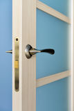 Modern style door handle Stock Photo