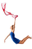 Modern style female dancer Royalty Free Stock Photo