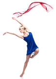 Modern style female dancer Stock Photography