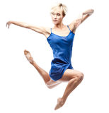 Modern style female dancer Royalty Free Stock Photos