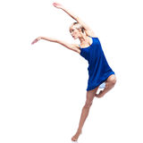 Modern style female dancer Royalty Free Stock Photo