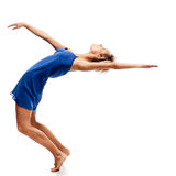 Modern style female dancer Royalty Free Stock Photos