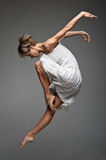 Modern style female dancer Stock Photos