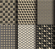 Modern style geometric pattern  Stock Photo