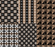 Modern style geometric pattern vector Stock Photo