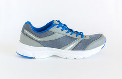 Modern style jogging shoes. Unisex modern style jogging shoes Royalty Free Stock Photos