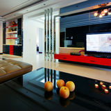 Modern style room decorated Stock Images