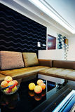 Modern style room decorated Royalty Free Stock Image