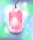 Modern Style Sale Tag Design. With copy space vector illustration