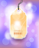 Modern Style Sale Tag Design royalty free illustration