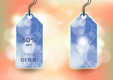 Modern Style Sale Tag Design Stock Image