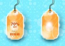 Modern Style Sale Tag Design Stock Images