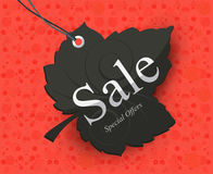 Modern Style Sale Tag Design Stock Photo