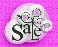 Modern Style Sale Tag Design vector illustration