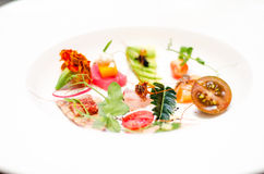 Modern style sashimi Stock Photo