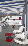 Modern style terrace Royalty Free Stock Image