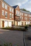Town house property development. Modern style terrace town house property development Royalty Free Stock Image