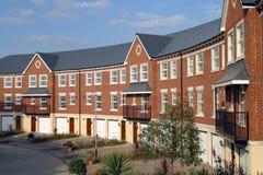 Town house property development. Modern style terrace town house property development Stock Image