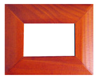 Modern style wooden frame. With a classy look Royalty Free Stock Photography