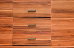 Modern style wooden furniture front panel Stock Images