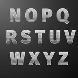 Modern Styles font Stock Photo