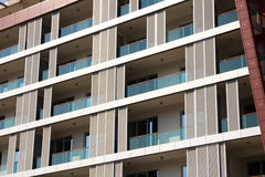 Modern stylish building. Royalty Free Stock Images