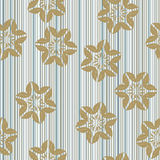 Modern stylish floral flower pattern Royalty Free Stock Images