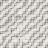 Modern Stylish Halftone Texture. Endless Abstract Background With Circles. Vector Seamless Mosaic Pattern. Modern Stylish Halftone Texture. Endless Abstract Stock Photo