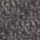 Modern Stylish Halftone Texture. Endless Abstract Background With Circles. Vector Seamless Mosaic Pattern. Modern Stylish Halftone Texture. Endless Abstract Royalty Free Stock Image