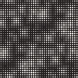 Modern Stylish Halftone Texture. Endless Abstract Background With Circles. Vector Seamless Mosaic Pattern. Modern Stylish Halftone Texture. Endless Abstract Stock Image