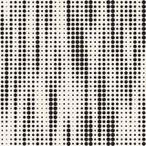 Modern Stylish Halftone Texture. Endless Abstract Background With Circles. Vector Seamless Mosaic Pattern. Modern Stylish Halftone Texture. Endless Abstract Royalty Free Stock Photography