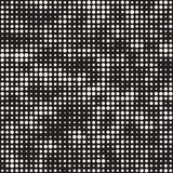 Modern Stylish Halftone Texture. Endless Abstract Background With Circles. Vector Seamless Mosaic Pattern. Modern Stylish Halftone Texture. Endless Abstract Royalty Free Stock Photos