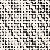 Modern Halftone Texture. Endless Abstract Background With Random Size Circles. Vector Seamless Mosaic Pattern. Modern Stylish Halftone Texture. Endless Abstract royalty free illustration