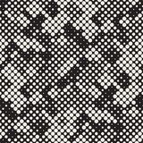 Modern Halftone Texture. Endless Abstract Background With Random Size Circles. Vector Seamless Mosaic Pattern. Modern Stylish Halftone Texture. Endless Abstract vector illustration