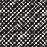 Modern Stylish Halftone Texture. Endless Abstract Background With Random Circles  Royalty Free Stock Photography